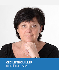 Cécile Trouiller, experte en bien-être et aménagement de spas pour A VOTRE SERVICE HÔTELIER